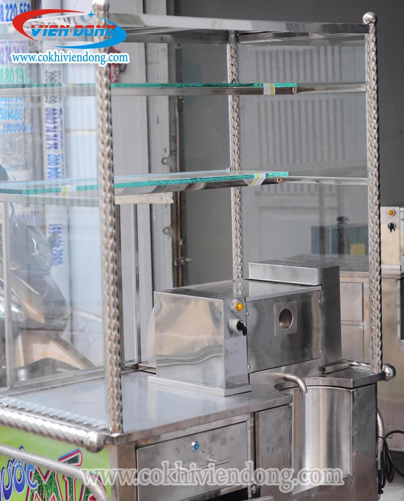Xe nước mía có kính X2K-500