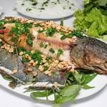 Cách làm món cá lóc nướng mía
