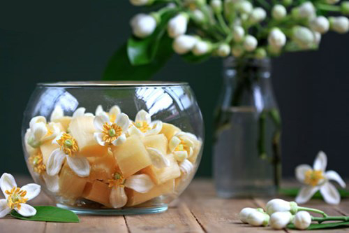Mía ướp hoa bưởi