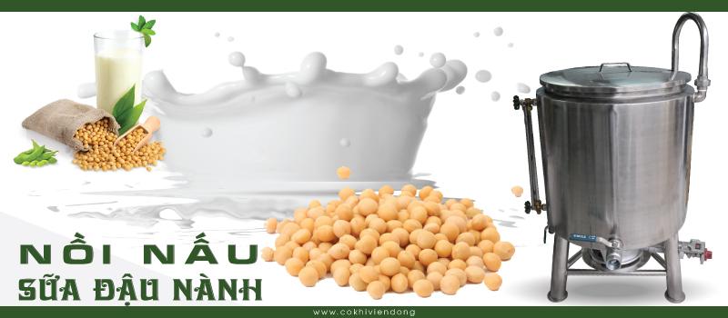 Nồi nấu sữa đậu nành 1