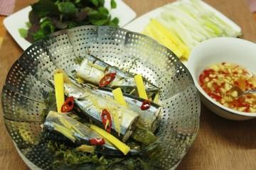 Cá bạc má hấp mía – Thơm ngon hương vị mía tươi đầu mùa