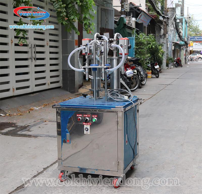máy chiết rót sữa chua