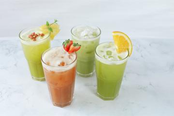 Nước mía hoa quả – Cứ đến hè là HOT