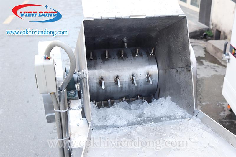Bánh răng của máy xay đá công nghiệp inox