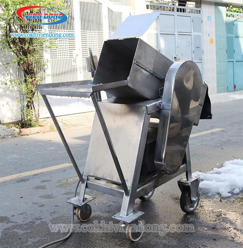 máy xay đá công nghiệp inox