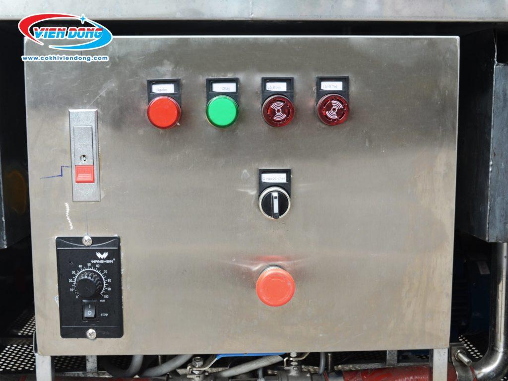 Bảng điều khiển máy rửa bát công nghiệp