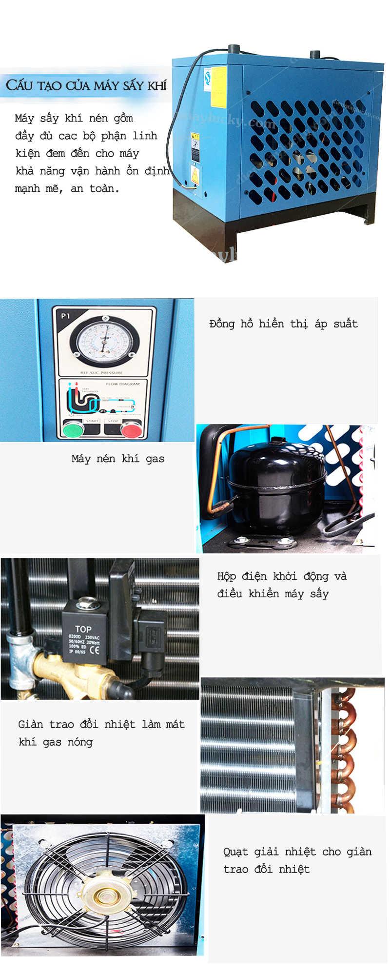 máy sấy khí