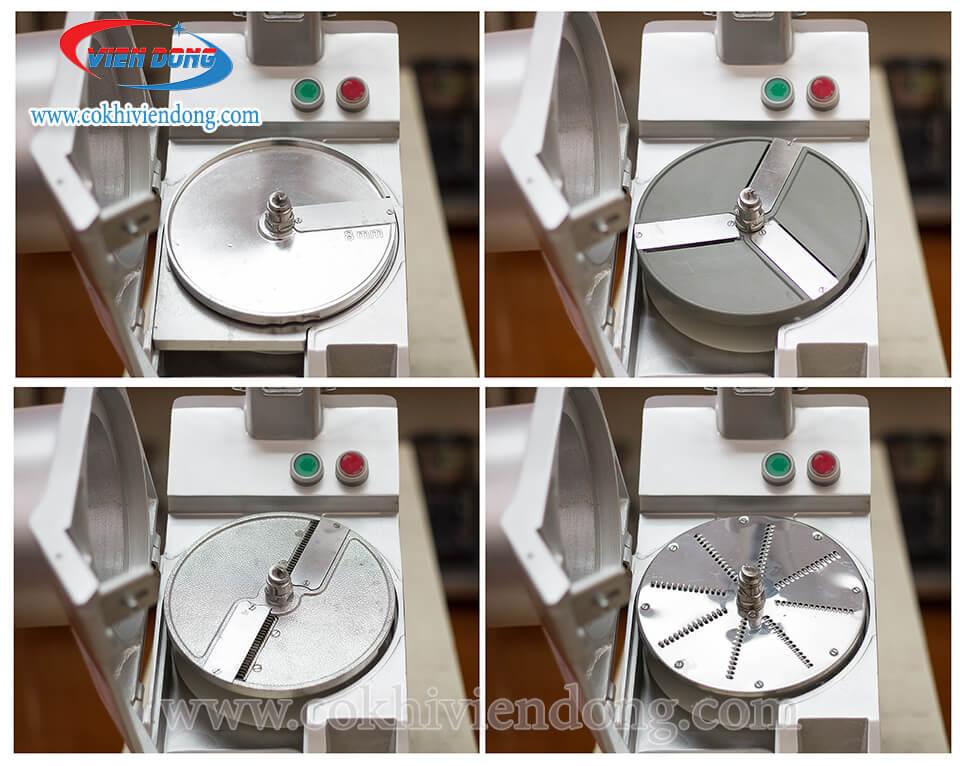 Cách thay lưỡi dao thái lát của máy rau củ quả nhanh chóng, hiệu quả