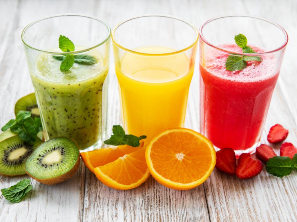 Menu các loại nước ép trái cây mix nhân đôi hiệu quả giảm cân