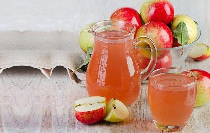 Nước ép táo ổi